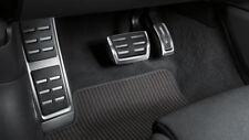 Genuine AUDI New Q5 B9 Aluminium Pédale Couvertures + repose-pieds Pour RHD & auto gearbox
