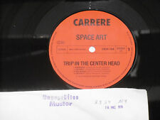 SPACE ART-Trip in the center head LP CARRERE Archive-COPY Comme neuf