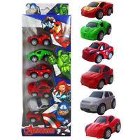 6 Marvel Avengers Infinity War Diecast Kid Boy PVC Model Vehicle Playset Car Toy