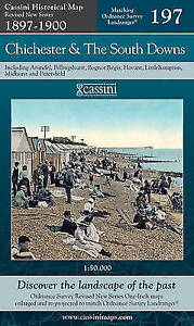 Chichester & the South Downs.Cassini Publishing Ltd(Sheet map,,2007)NEW.End Of S