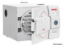 "NEW ! Tuttnauer EZ9Plus 9""x20"" Chamber Size Sterilizer / Autoclave w/o Printer"