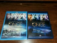 ONCE UPON A TIME Season 1 Blu-ray 5 Disc Set + LENTICULAR Slipcover Like NEW