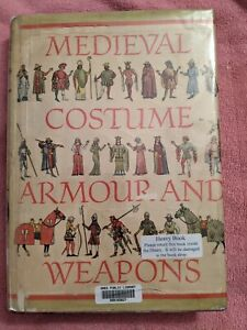 Drobna, MEDIEVAL COSTUME, ARMOUR AND WEAPONS (1350-1450), Ex-Lirary, 1962, HB