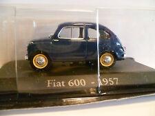 FIAT 600 BLEU de 1957 ~  NEUF