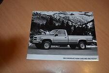 PHOTO DE PRESSE ( PRESS PHOTO ) Chevrolet K2500 4WD Pickup de 1995 GM011