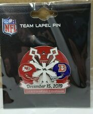 2019 Denver Broncos VS Kansas City Chiefs 12/15/19 Game Day Pin SHIPS FREE