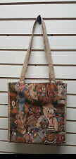 Tapestry Bears Print Tote Bag Handbag/Animal