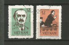 Vietnam du Nord 1972 Dimitrov 2 timbres oblitérés /T6387