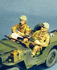 Resicast 1/35 British Paratrooper Jeep Driver & Co-Driver (2 Figures) 355521