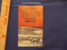 1960 Rochester NY Traveler Booklet Fun in the Flower City Travel Batavia Downs