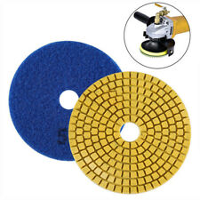 4'' Diamond Polishing Pads Grinding Disc Fits Granite Marble Stone 50-3000 Grit
