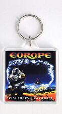 EUROPE - PRISONERS IN PARADISE LP COVER KEYRING LLAVERO