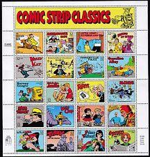 US - #3000 a-t - Comic Strip  Classics  -  Sheet of 20 w/label - 1995 - B8911