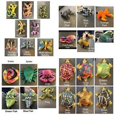 Sand Animals-Lizard,Alligator, Butterfly,Fish,Horse,Snake ,Spider,Crab,Frog,Turtle