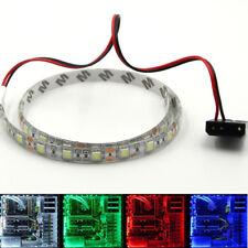 LED Streifen Hintergrund Licht 5050 12V Wasserfest PC Computer Case