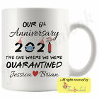 Personalized Sixth Wedding Anniversary Gift For Him And Her 6th Anniversary Mug