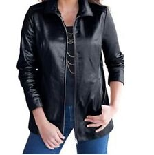 Women's winter fall Spring100%genuine soft leather light jacket coat plus 1X 2X
