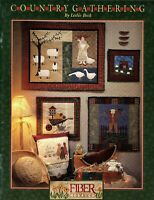 Country Gatherings Sewing Applique Quilt Blocks Patterns Templates