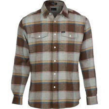MATIX Perkins Flannel Shirt (L) Heather Grey