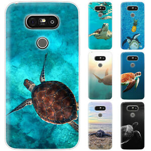 Dessana Water Turtles Silicone Protective Case Pouch Cover For LG