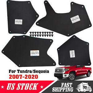 Apron for Toyota Tundra 07-20 Fender Liner Seal Guards Skirt Mud Flaps Mudflaps
