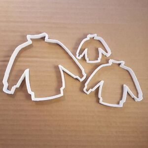 Jumper Shape Cookie Cutter Sweater Pastry Biscuit Christmas Clothes Top Stencil