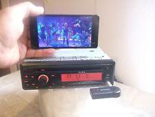 ALBA ics105 car stereo cd player aux input.bluetoot