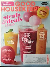 Good Housekeeping Magazine July 2017 Steals & Deals issue - Save big this Summer