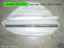 Yamaha TZR125 RD125YPVS Fork Inner Tube L+R NOS RD125LC MK2 FORK TUBES 1 PAIR