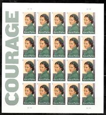2013 #4742 Rosa Parks Pane of 20 Without Die Cuts MNH