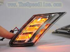 12 13 14 15 16 17 SUBARU BRZ SCION FR-S FRS Smoke Amber LED Side Marker GT86
