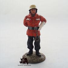 Figurine Del Prado soldat plomb Pompier Tenue Intervention Allemande 1990