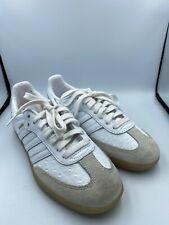 Adidas Samba Women Shoes Sneakers Running UK 5 US 6.5 BZ0619 White Leather