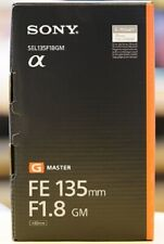 SONY FE 135mm F1.8 GM SEL135F18GM for SONY E mount EMS w/ Tracking NEW
