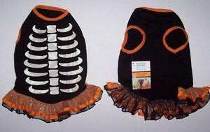 Martha Stewart Pets Skeleton costume dress Dog Large NWT