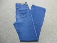 "WOMENS LEVI 512 SLIMMING BOOTCUT STRETCH JEANS SIZE 8 31""L / REF K3490"