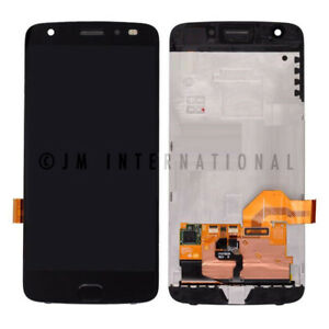 Motorola Moto Z2 Force XT1789 LCD Display Digitizer Touch Screen Frame Assembly