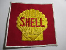 Shell Oil Patch FREE Ship New Old Stock of Closed Embroidery Company