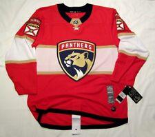 FLORIDA PANTHERS size 54 = size XL  ADIDAS NHL HOCKEY JERSEY Climalite Authentic