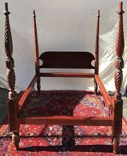 18Th C Antique Salem Massachusetts Four Post Tester Bed ~ A Treasure
