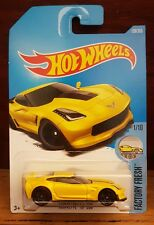 Hot Wheels 2017 FACTORY FRESH 1/10 CORVETTE C7 Z06 (Int Card) 128/365 (A+/A)