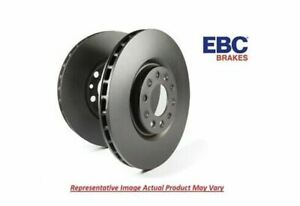 EBC RK Plain Rotor Pair Rear Vented 300 mm for 05-14 Ford Mustang # RK7254