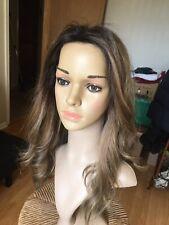 "20"" Lace Top Brazilian Human Hair Kosher Sheitel/Wig Color 6/14/22"