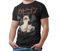 Men's T-Shirt Snorlax Giant Monster Kaiju Unoffical Pokemon T Shirt Kids & Adult