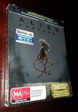 Alien Covenant BLURAY Steelbook Action Sci Fi Ridley Scott Fassbender Movie