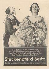 Y6048 Steckenpferd-Seife - Illustrazione - Pubblicità d'epoca - 1925 Old advert