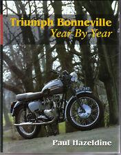 Triumph Bonneville Year by Year by Hazeldine Origins Speed Twin Record Breaking