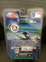 Colorado Rockies MLB Baseball 2000 GMC Yukon 1:64 Scale Ltd Ed w/Coin White Rose