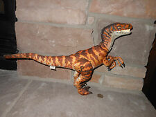The Lost World Jurassic Park Equity Toys Plush Stuffed Velociraptor Raptor