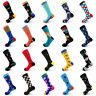 Fashion Men Women Sock Funny Combed Cotton Animal Fruit Bird Casual Joyous Socks